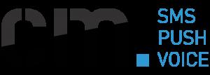 CM logo SMS Push Voice Horizontal